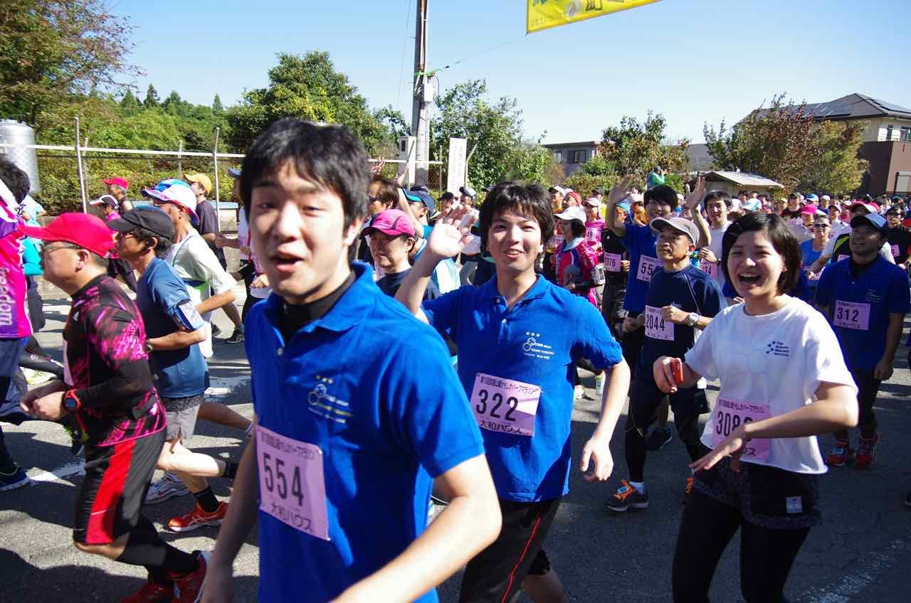 マラソン かもしか ハーフ
