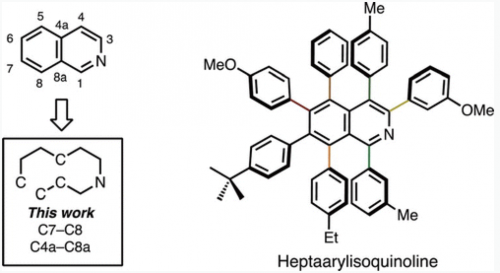 Synthesis of A Heptaarylisoqui...